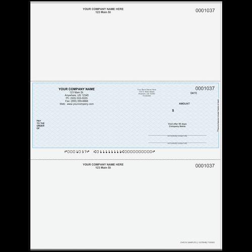 L1037B - Multi-Purpose Middle Business Check