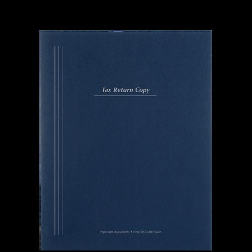 PT74XX - Tax Return Copy Portfolio 100# (Two-Pocket)