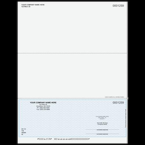 L1259 - Multi-Purpose Bottom Business Check