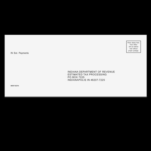 INEST10 - Estimate Envelope - Indiana