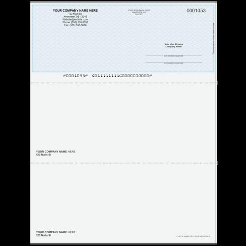 L1053C - Multi-Purpose Top Business Check