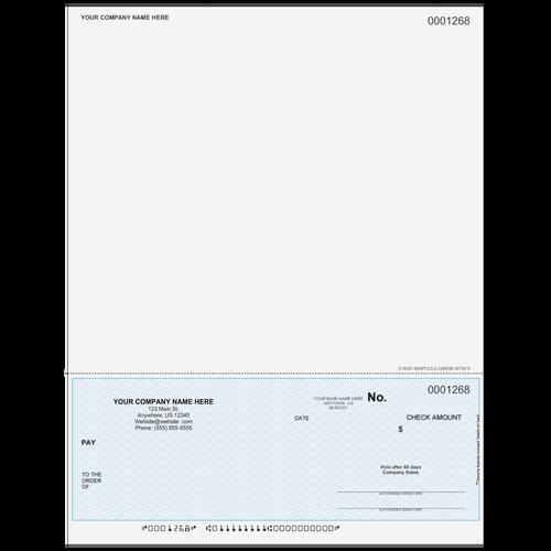 L1268 - Multi-Purpose Bottom Business Check (One Perf)