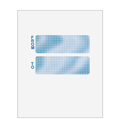 CCLNT9A10 - Double Window Mailing Envelope