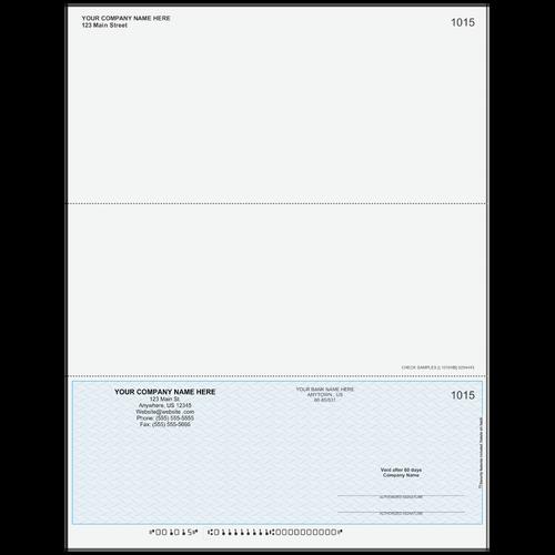 L1015 - Multi-Purpose Bottom Business Check