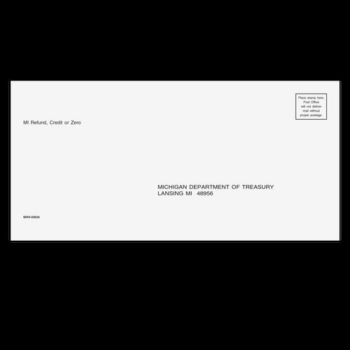 MIR410 - Refund Envelope - Michigan