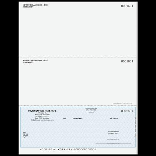 L1601 - Multi-Purpose Bottom Business Check