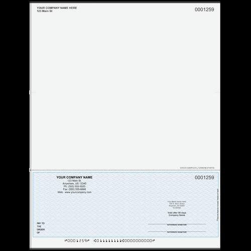 L1259B - Multi-Purpose Bottom Business Check (One Perf)