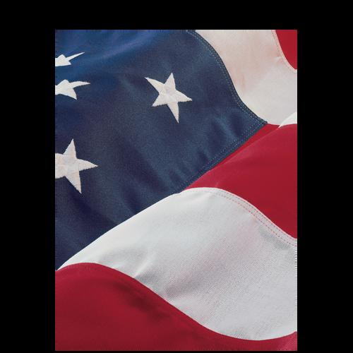 80086 - American Flag Folder (Letter)