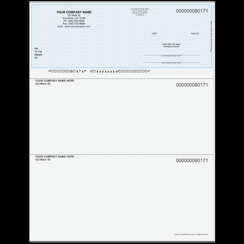 L80171 - Multi-Purpose Top Business Check