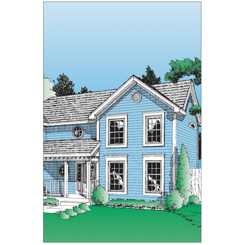 8441 - Mortgage Application Folder - Colonial Style (Legal Size)