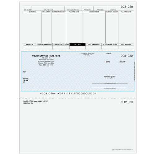 L81020 - Payroll Middle Business Check