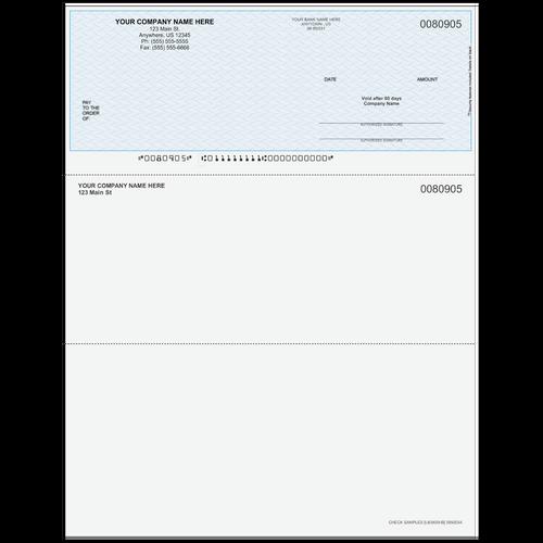 L80905 - Multi-Purpose Top Business Check