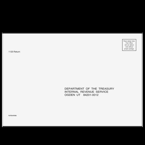 FUTC610 - 1120 Corporate Envelope - Ogden, UT 6 x 9