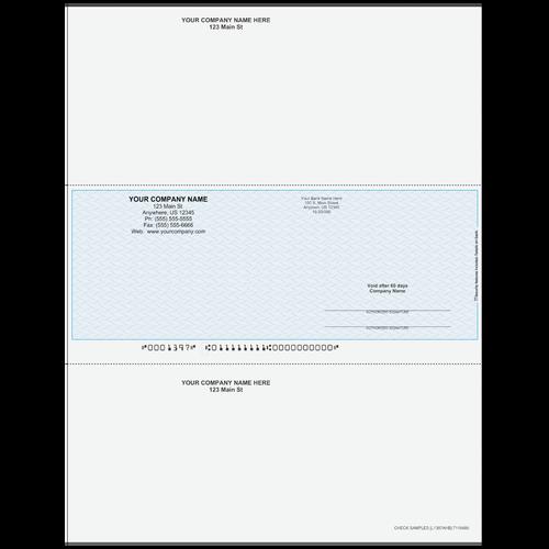 L1397A - Multi-Purpose Middle Business Check