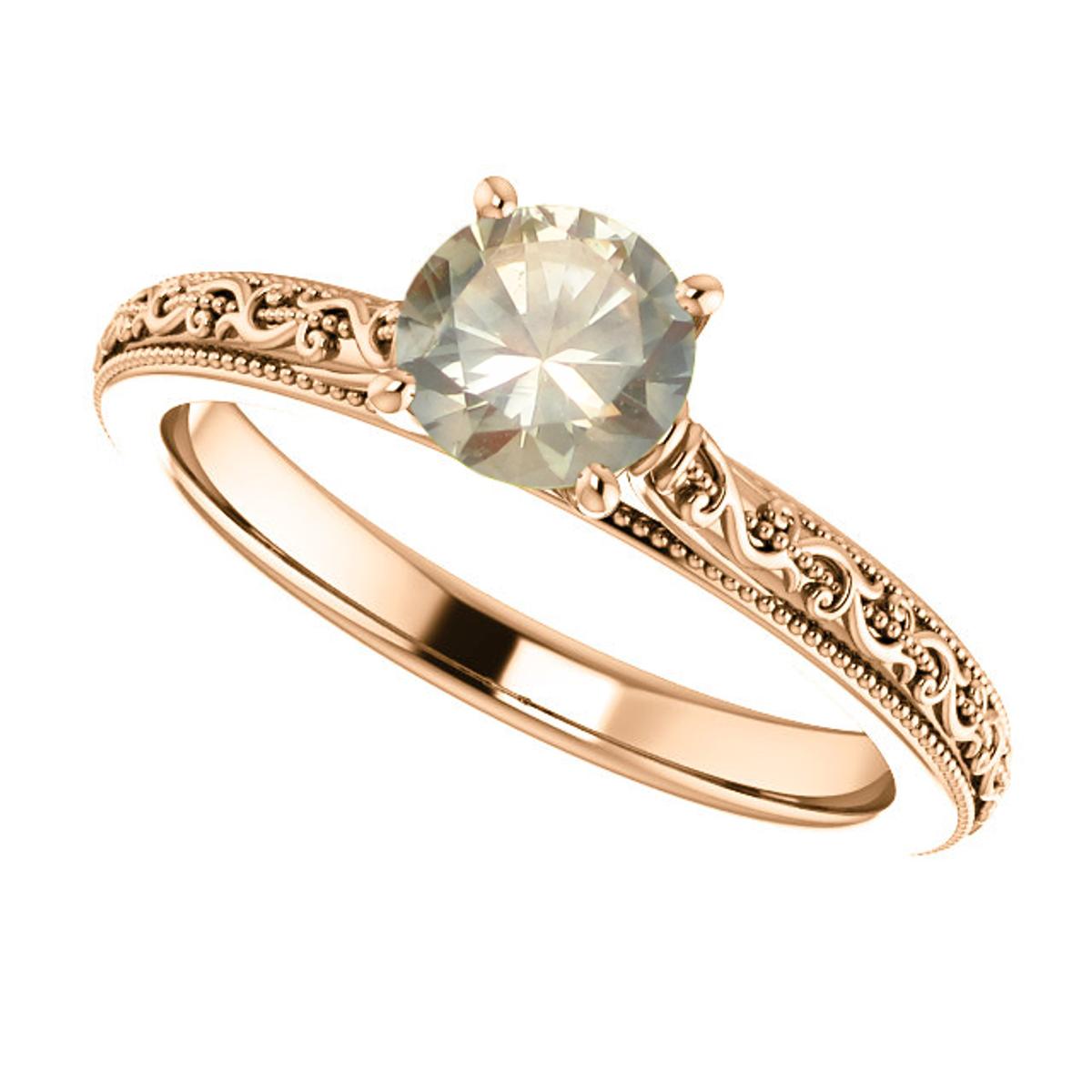 Helena | Montana Sapphire Engagement Ring | American Gemstone