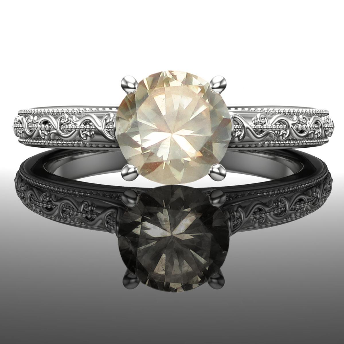 0f08202e0 Montana Sapphire Engagement Ring | American Gemstone