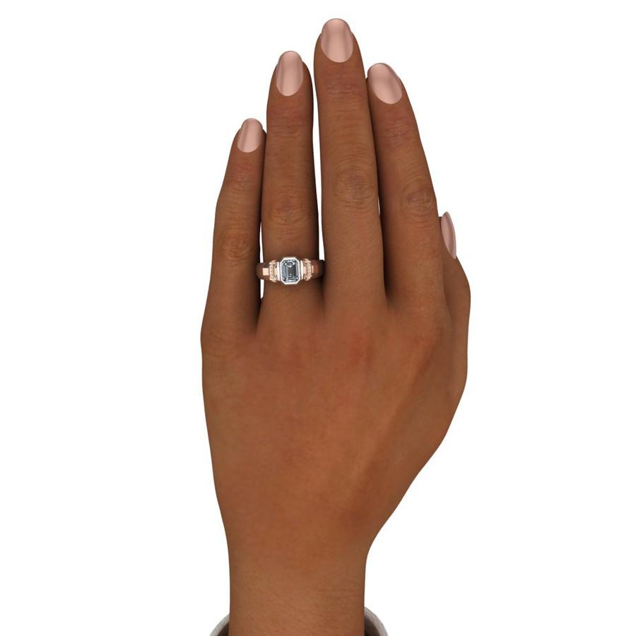 Supernatural Sam Ring Men's Moissanite Engagement Band
