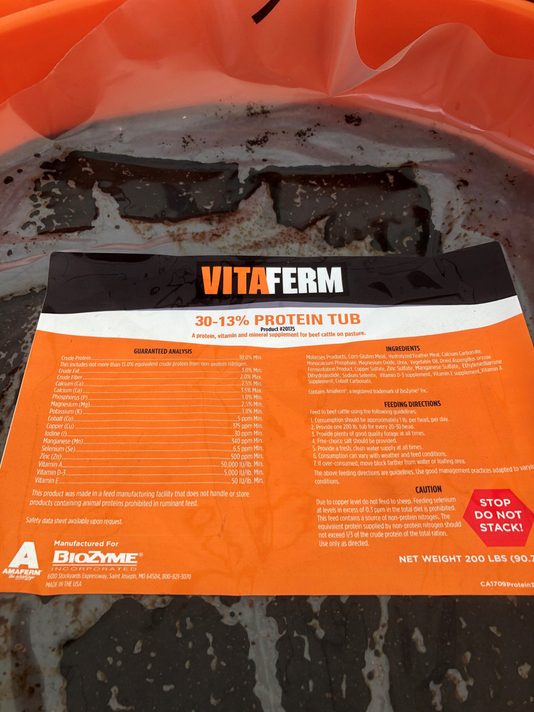 VITAFERM 30-13% PROTEIN TUB