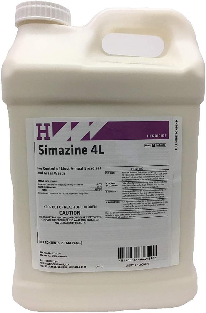 Simazine 4L - 2.5 Gallons