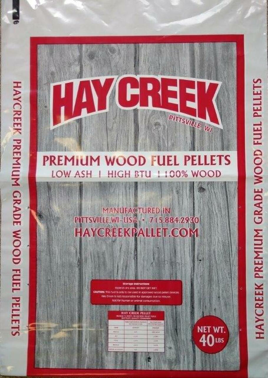 Hay Creek Wood Pellets