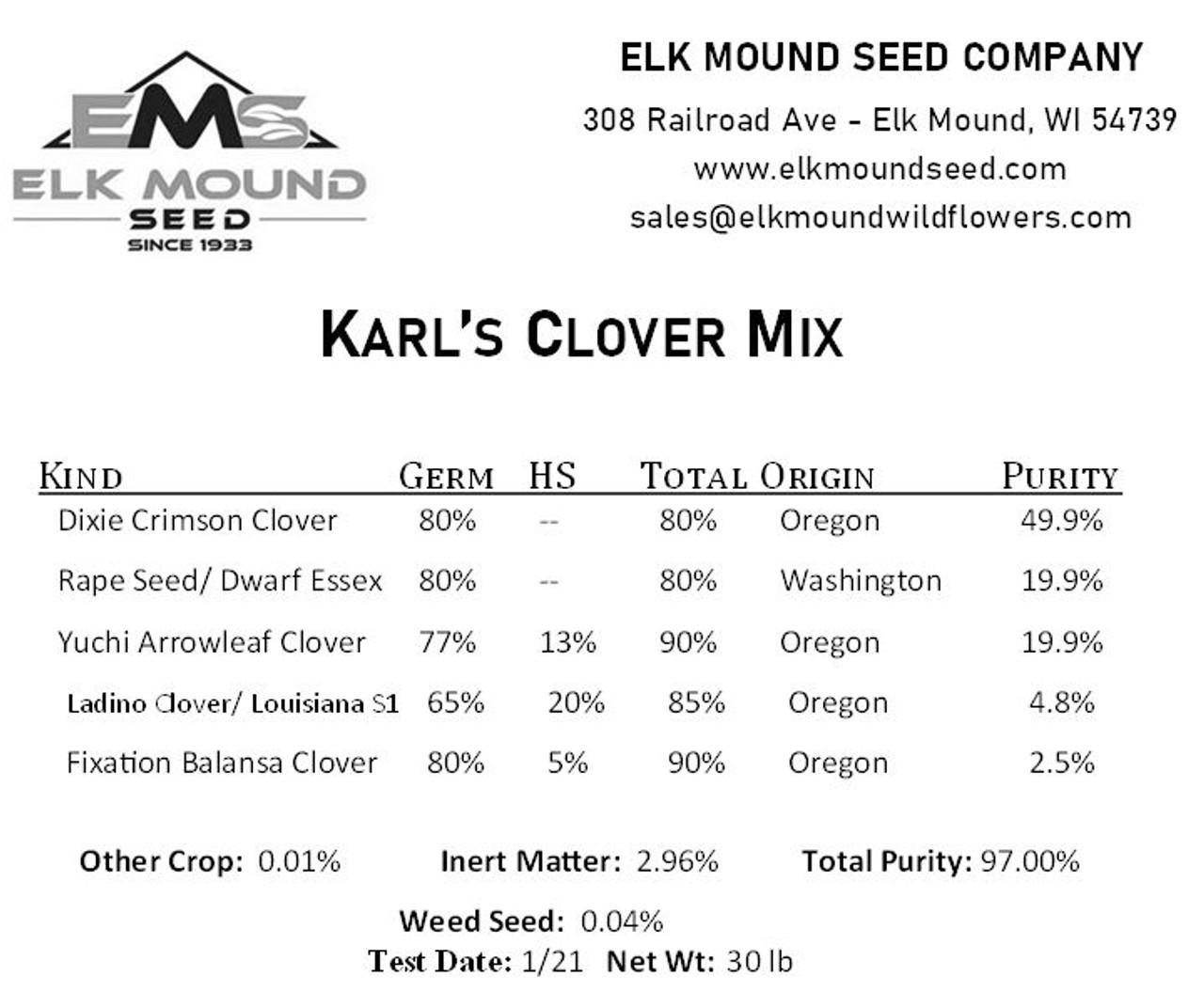 Karl's Clover Mix