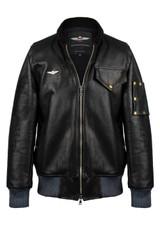 VKTRE Aviator motorcycle fight jacket full grain made in USA