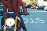 Choosing the right leather for motorcycle jackets