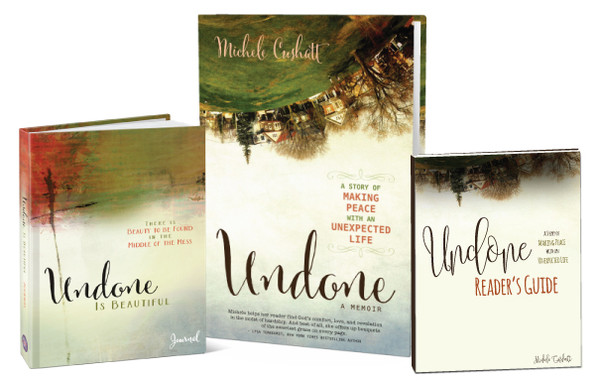 Undone Bible Study/Book Club Kit: Includes 10 Books, 10 Journals and the Reader's Guide Download