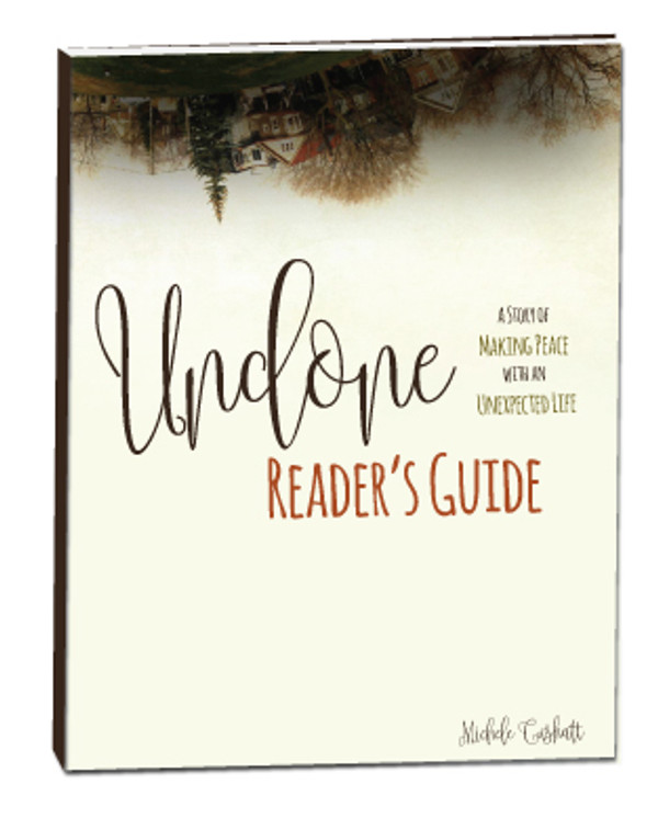 Undone Reader's Guide (Downloadable)