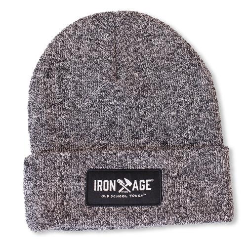 IRON AGE CHARCOAL GREY SKULL CAP
