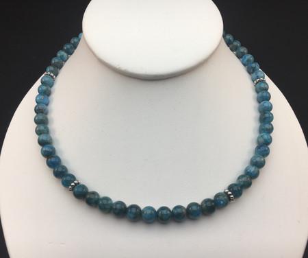 Be-aditudes Apatite necklace