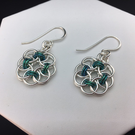 Circle of Life earrings (with Niobium)