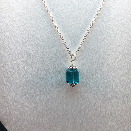 Awareness Cube necklace (large)
