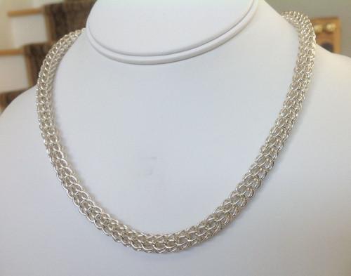 Argentium Persian necklace