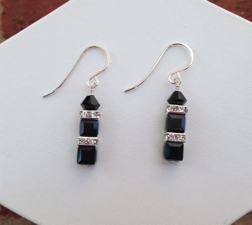 Unforgettable Earrings - black