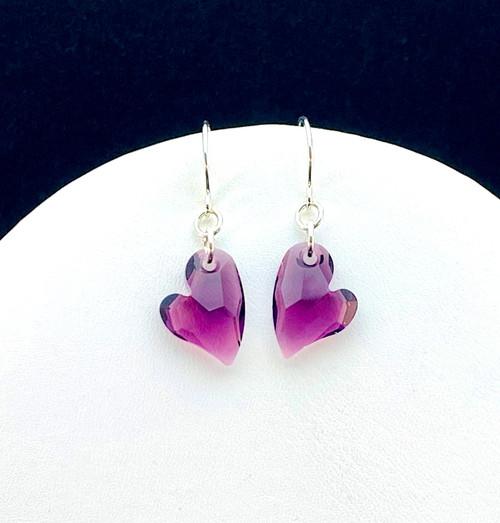 Swarovski Devoted Heart earrings