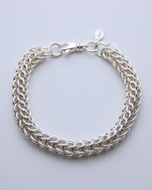 Argentium Persian bracelet