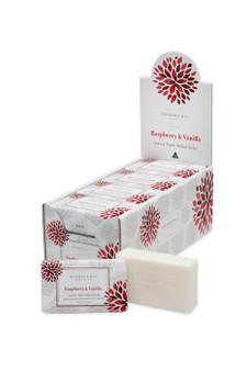 Raspberry Vanilla Luxury Soap 200g