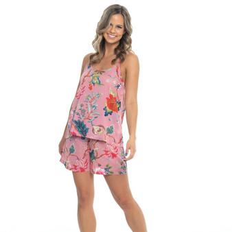 Arabella Hot Pink Cami & Short Set