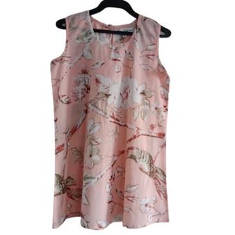 Blossom Peach Girl's Peach Dress