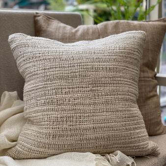 Bergen Ombre Stonewashed Linen Cushion Cover 50 x 50 cm