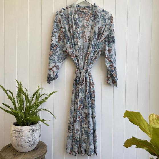 Carlene Kimono Robe/Dressing Gown