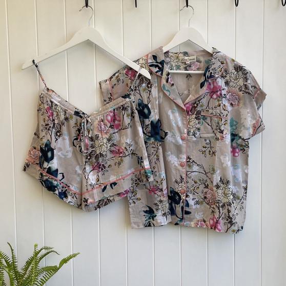 Carma Short Pajama PJ Set