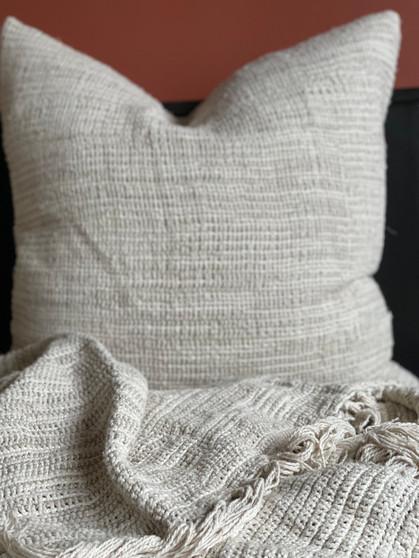 Bergen Ombre Stonewashed Linen Cushion Cover 65 x 65 cm