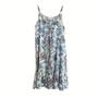 Carlene Frilled Hem Slip Dress