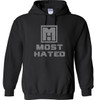 PULLOVER HOODIE BLK/GRY