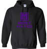 PULLOVER HOODIE BLK/PUR