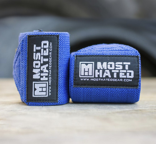 Rebel Wrist Wraps BLU