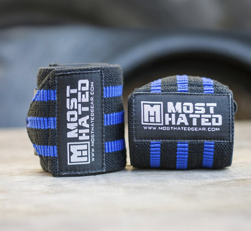 Super Power Wrist Wraps BKB