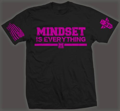 MINDSET IS EVERYTHING.